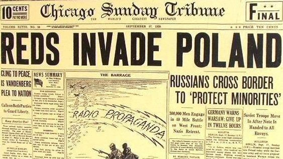 #OTD 80 years ago the Soviet Union, in alliance with Nazi Germany sealed in the #RibbentropMolotov pact, invaded and occupied Poland. We will never forget 17 September 1939. #80WW2<br>http://pic.twitter.com/XDRTId2uqB