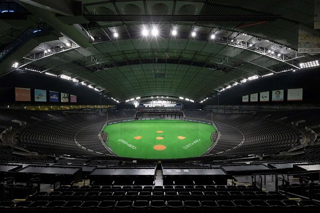 From baseball stadium to rugby ground – watch how World Cup venue Sapporo Dome transforms rugbyworld.com/tournaments/ru…
