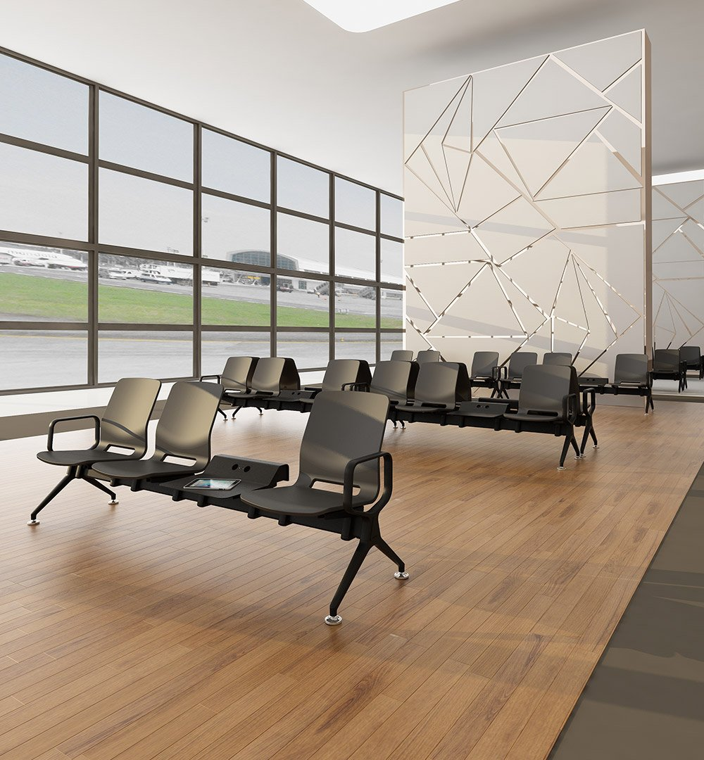 Fineseat On Twitter Antimicrobial Polyurethane Seats And An Anti Dust Beam Design The Eon Terminal Is Perfect For Airports Hospitals And Any Waiting Area Comfort Hygiene And Durability All In One Beautiful Beam