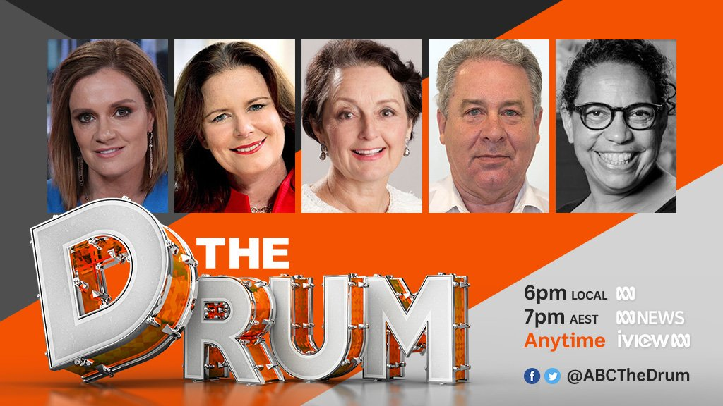 Tonight on #TheDrum denial of an internal crisis as 3 MPs attempted to spill the NSW leadership over the abortion bill, the ACT Government asks Canberrans to do more of the heavy lifting with climate change, class action over robo-debt, & businesses focus on social responsibility
