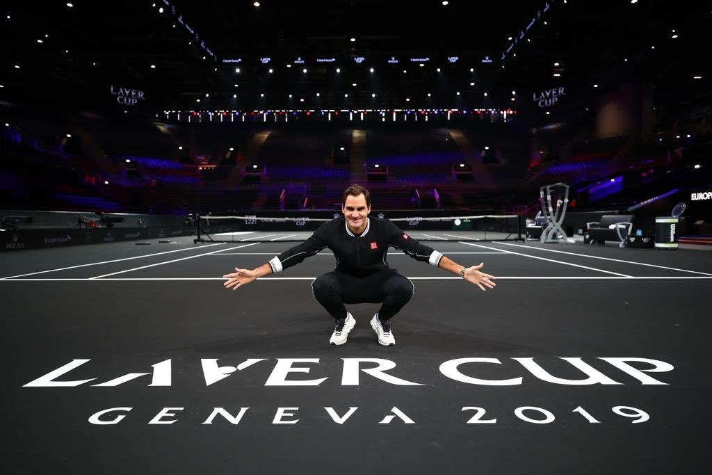 Happy to be back on Twitter. #itsbeenawhile 🙋🏼♂️👋🏼Happy to back in Geneva. 🇨🇭#happy                                   Happy to be back @LaverCup #finally ⚫️🔵