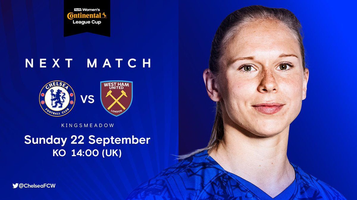 We return to Kingsmeadow on Sunday! 🤩 Whos coming?! 🙋♀️ 🎟 che.lc/CFCWtickets #TuesdayMotivation