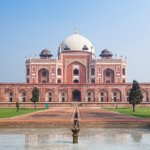 Image for the Tweet beginning: Humayun's Tomb, is an Iconic
