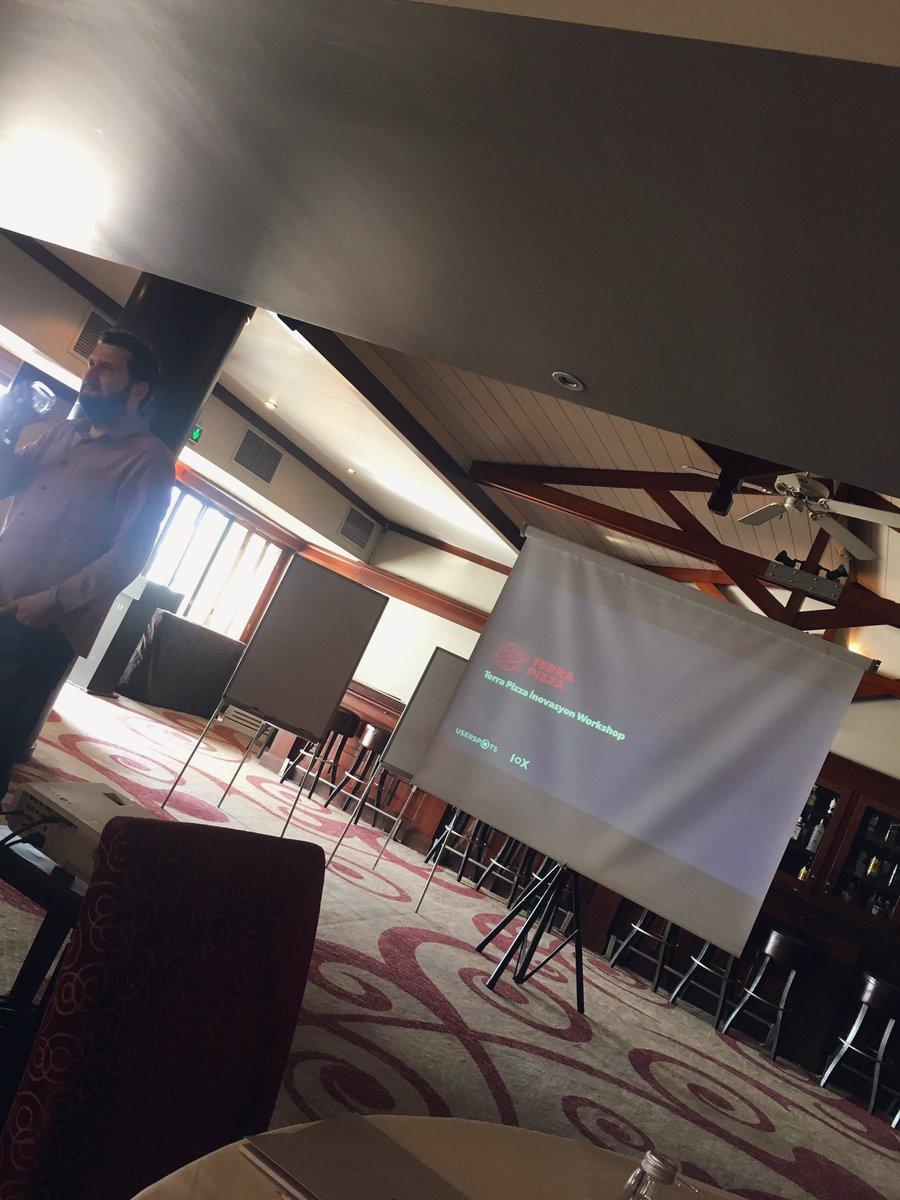 Userspots & Terra Pizza ile workshop günümüz 🎈 https://t.co/yCe5rf6Mpy