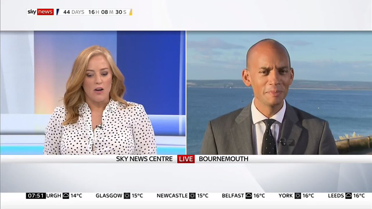 We will put forward for the country a way to end this #Brexit mess - Lib Dem MP @ChukaUmunna explains the partys new policy to cancel Brexit, if they win the next general election. #Sunrise Get more here: po.st/jAO4Su