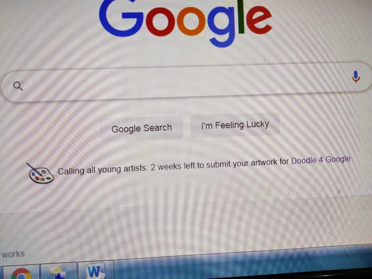गुगल डुडल वर १ ते १० इयत्तेतील विद्यार्थीसाठी चित्रकला इ. स्पर्धा आयोजित केली आहे. #म #मराठी #महाराष्ट्र