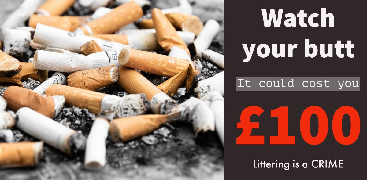 A #Barry resident was issued with an on-the-spot Fixed Penalty Notice, this morning after being seen, by an Officer, throwing a cigarette from a moving vehicle in the Buttrills ward of the town. #zerotolerance #wastecrime #litter #littering