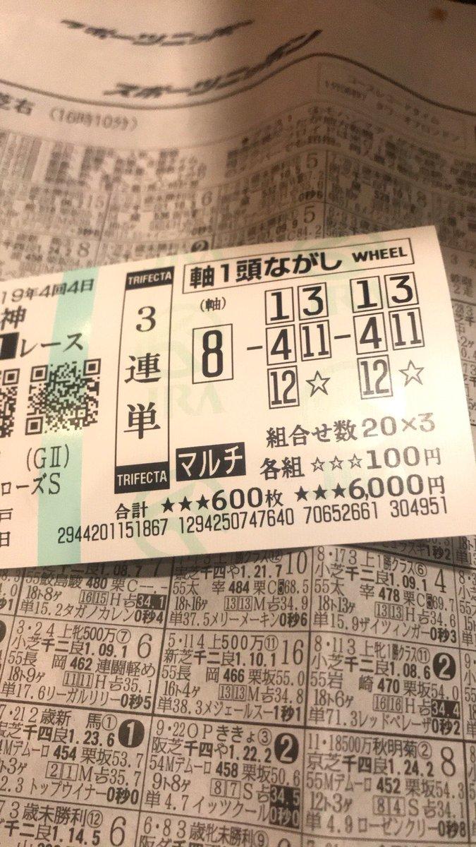 9月15日ローズS 4-11-8 ダノンファンタジー ビーチサンバ ウィクトーリア 3連単100円 10,700円🙏
