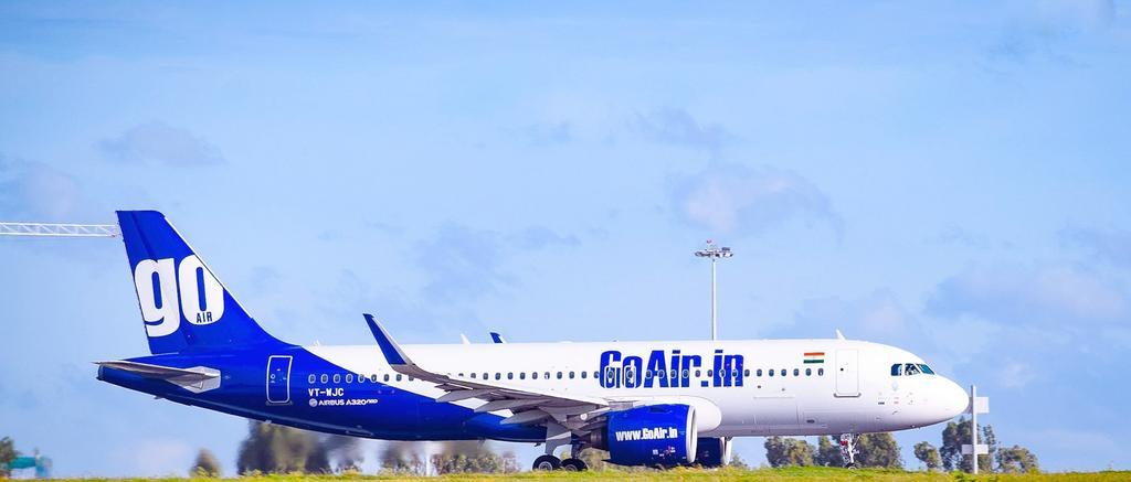 In love with flying! 💙✈️#GoAirtastic📸: Venkatesh Prasad