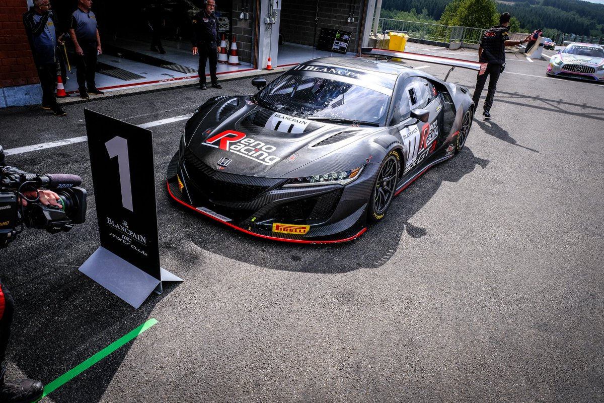 How cool! 👍 A second NSX GT3 Evo will contest the GT Cup at the @fiamgames. Reno Racing will run the Team Denmark car with two champion drivers at the wheel - bit.ly/2mmJ1gj