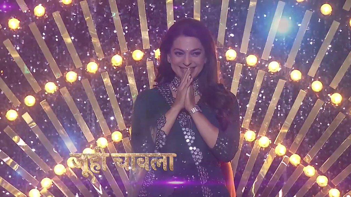 #DanceDeewane2 Semi Finale ko banane aur bhi shaandaar, aa rahi hai the evergreen #JuhiChawla! Stay tuned, this Sat-Sun at 9 PM. @MadhuriDixit @TheTusharKalia @ShashankKhaitan @iam_juhi Anytime on @justvoot.