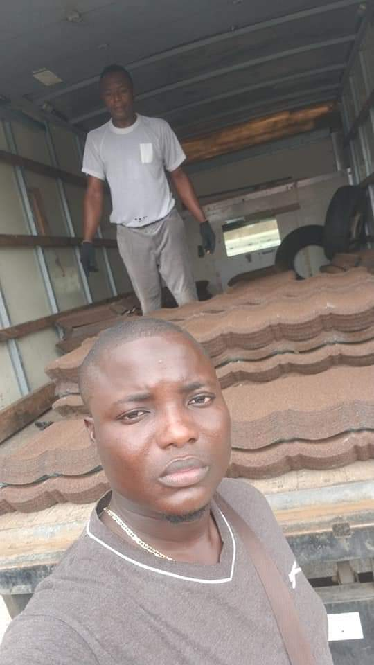 Loading of Stone coated Roofing Sheet to City of David Estate Lotto shimawa Ogun state  Call/WhatsApp 08085310359 & Retweet Bond Designs (Coffee Brown) 816Sqm #TiwaSavageInLagos  #OTrike  #imranRoofing #TuesdayMotivation  #voiceofDon<br>http://pic.twitter.com/zitH0xpdPa