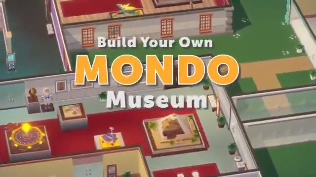Announcing our new game... 🏛️🦕MONDO MUSEUM🦕🏛️ Do you have the imagination to design and curate a world-class museum? Exhibit your creativity with multiple collections, mod support, and more! Wishlist on Steam: bit.ly/2keBK1o Dev by @ViewportGames   Published by us