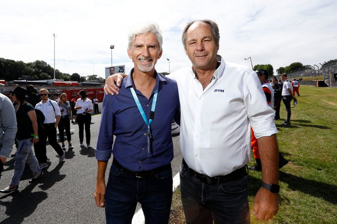 Happy birthday too to Damon Hill, who turns 59 today!