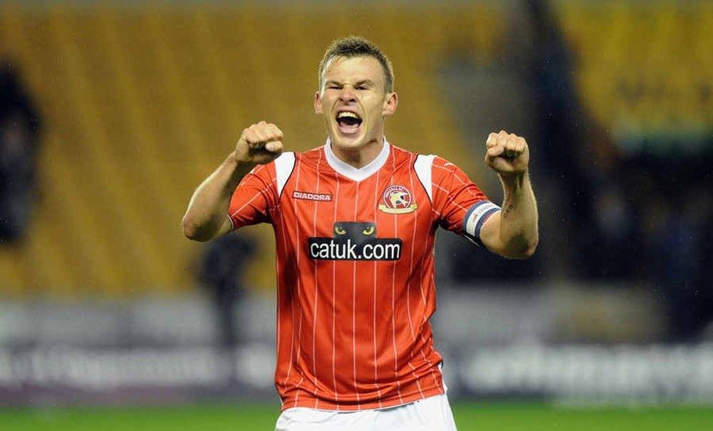 OTD  years ago   Andy Butler scores the winner as we beat Wolves 1-0 at Molineux.  Six years later they're preparing for a European game and we're preparing for Morecambe (a) in a League 2 relegation six pointer  <br>http://pic.twitter.com/LCO4ss1mbg