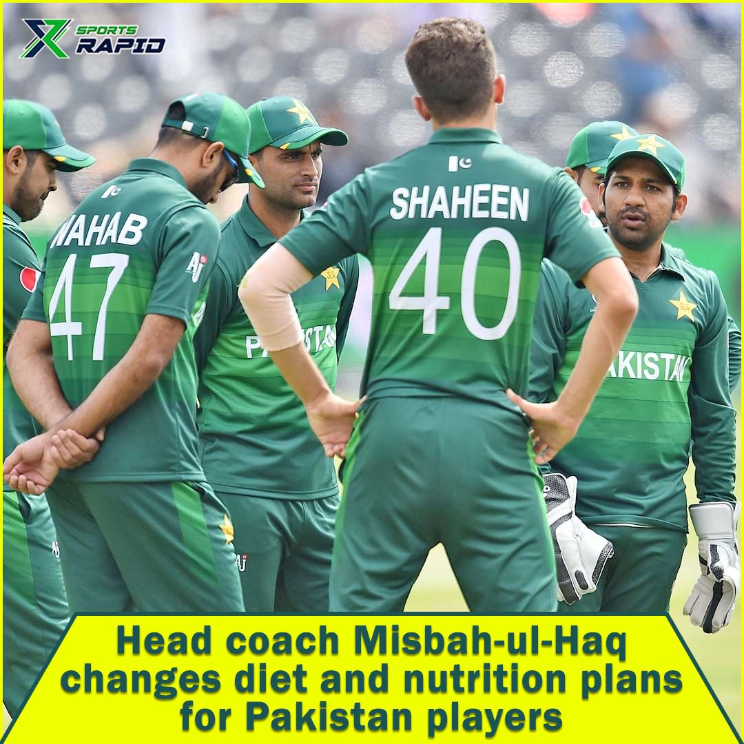 And finally, the required decisions are taken as Misbah-Ul-Haq changes diet protocol for Pakistani Players.#pakcricket #pakistan #psl #f #cricket #lovecricket #imamulhaq #greenshirt #wehavewewill #pakistancricket #fastbowler #pakistancricketteam