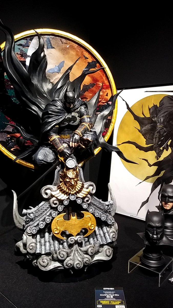 バットマンスペシャルギャラリー、グレイルのスタチューまである!!どれも素晴らしいのでみんな道に迷わないよう気を付けて来るべしです!  #prime1studio  #batman80th  #バットマン80周年