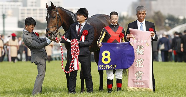 藤沢和雄、ぶっつけで桜花賞2勝目。グランアレグリアと20年前の記憶。(平松さとし) - Number Web https://t.co/ZwJRe1bavF