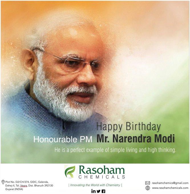 Happy Birthday to Honourable PM Mr. Narendra Modi