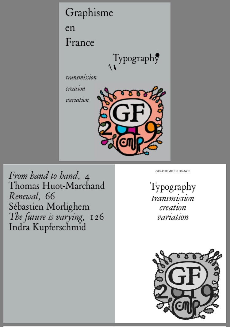 «From hand to hand. The transmission of typeface design in France, 1979—2019» essay by Thomas Huot-Marchand in Graphisme en France 2019 @CNAPfr is now available in English. Download it at cnap.graphismeenfrance.fr/article/graphi… Along with great contributions by @kupfers and @s_morlighem