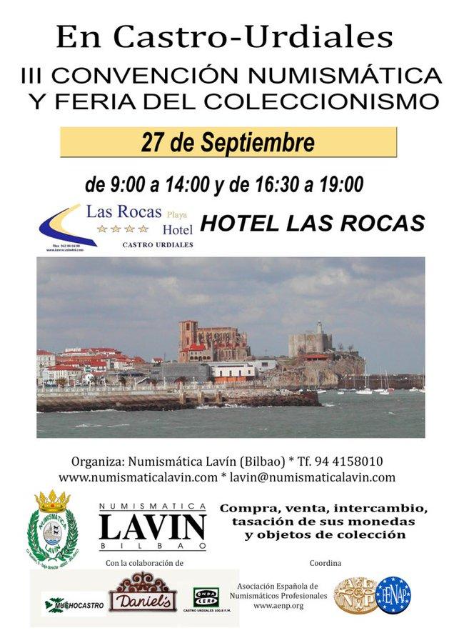 27 de septiembre, viernes. III Convención Numismática en Castro-Urdiales EEqF6-WXoAY3drT?format=jpg&name=900x900