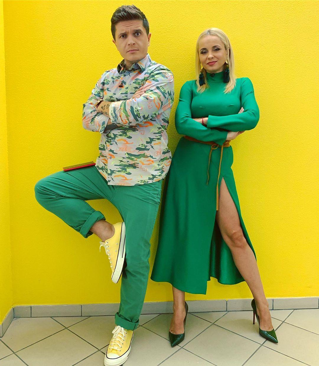 Лилия Ребрик и Анатолий Анатолич
