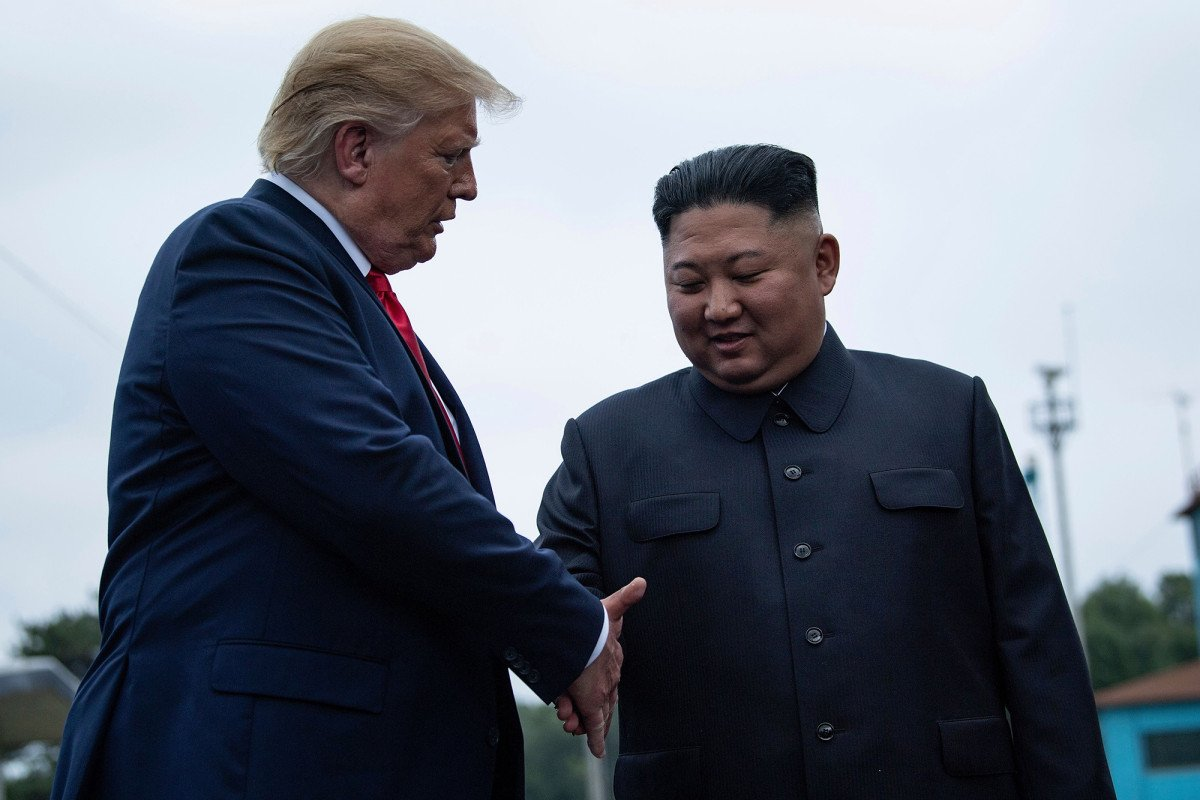 North Korea says talks with the US could take place in a 'few weeks'  https:// trib.al/hEWPACW    <br>http://pic.twitter.com/dznaY97GIf