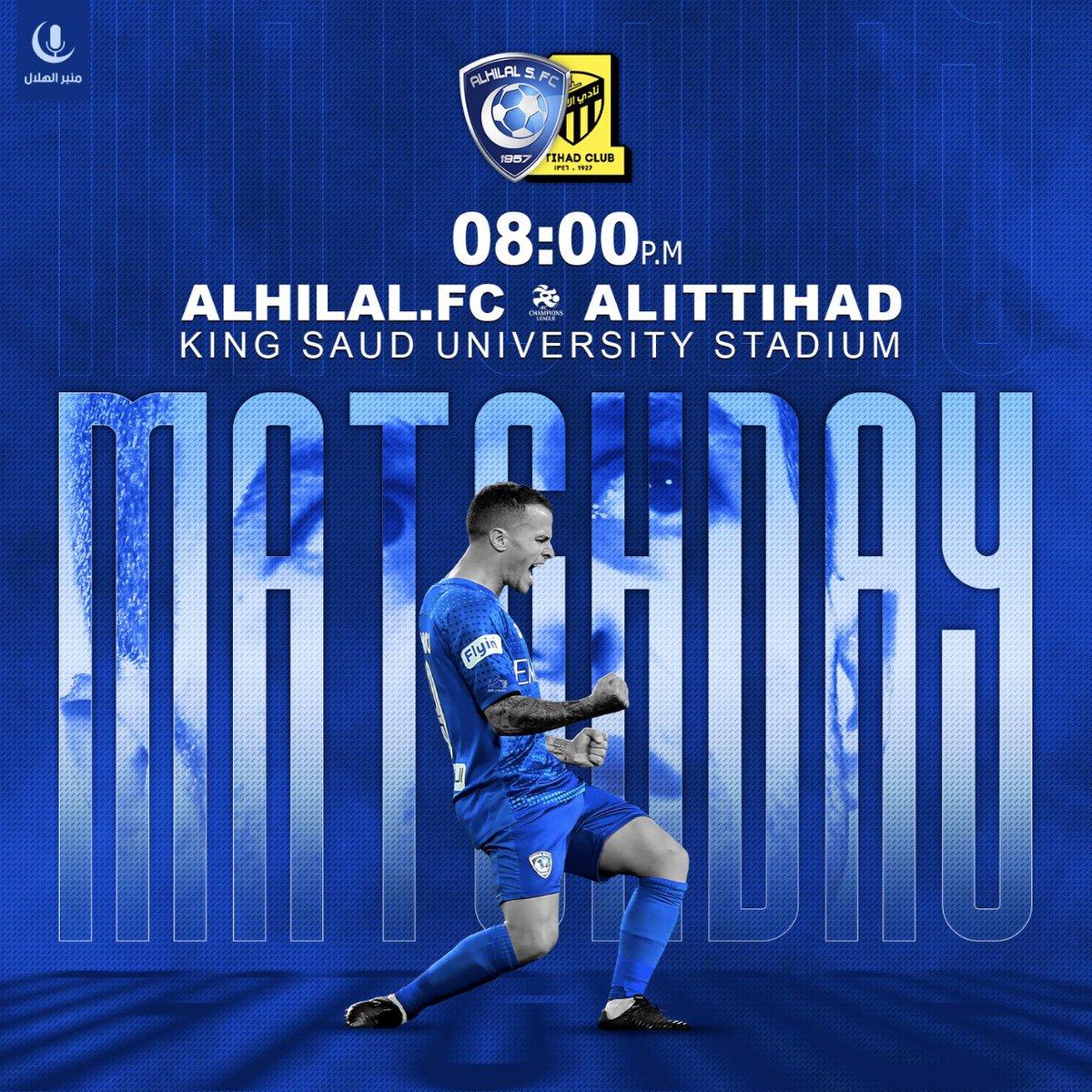 RT @MnbrAlhilal: #MatchDay  #مباراة_اليوم https://t.co/wmF7HYLTJD