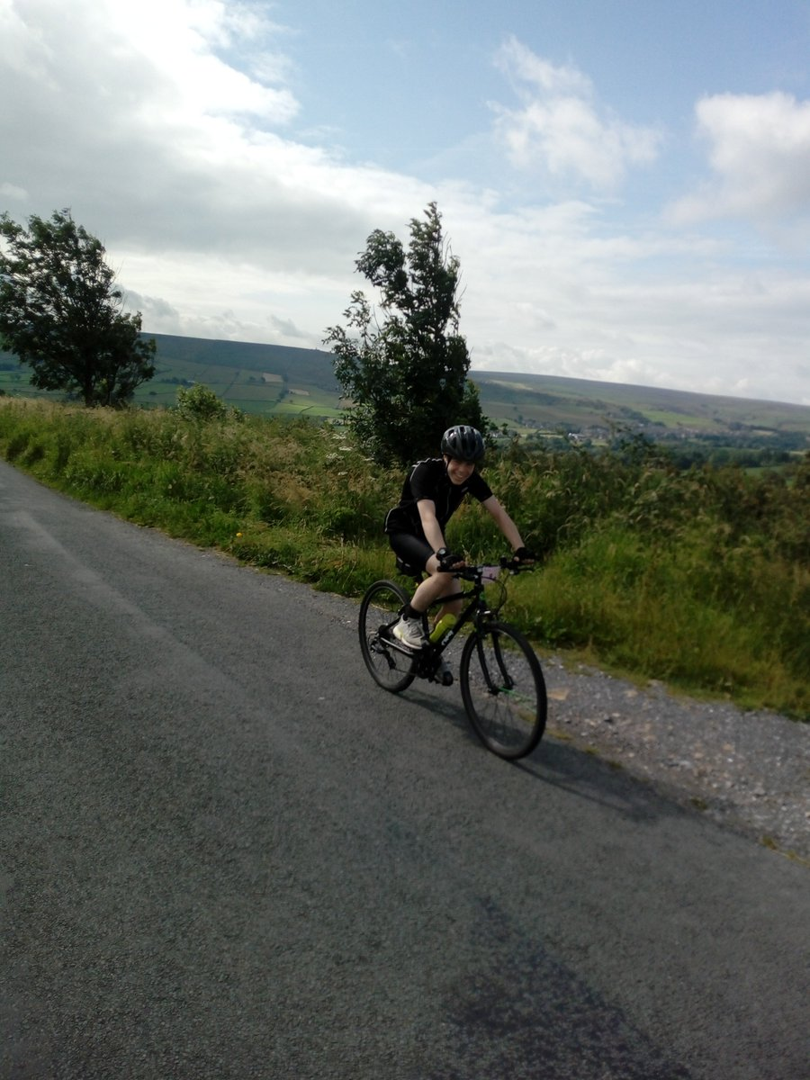 Congratulations to Joshua for completing two cycle events over the summer, raising over £300 for his chosen charities. #overgatehospice #britishheartfoundation