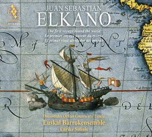"""""""Juan Sebastian Elkano"""", Euskal Barrokensemble taldearen lanik berriena. Disko bikoitzaren fitxa, hemen https://t.co/mvzEOPfnD3 https://t.co/UJbZ4onsTT"""