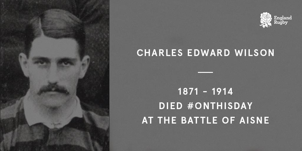 test Twitter Media - Remembering the 27 England internationals who lost their lives in #WW1.  A tribute to Charles Edward Wilson: https://t.co/zS1LgdOPAF   #RugbyRemembers https://t.co/WVxturF6yP