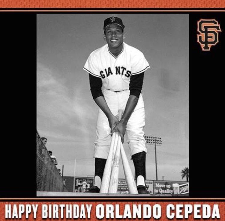 Happy Birthday to Orlando Cepeda