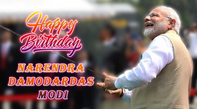 birthday to Narendra Modi ji My Great person of our India.