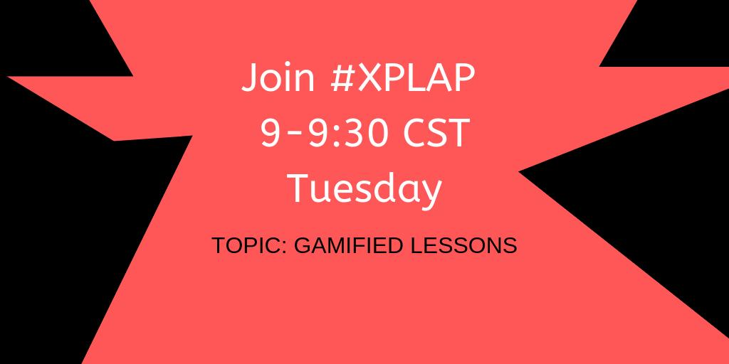 Come join #XPLAP tonight at 9CST for a great chat filled with great people.