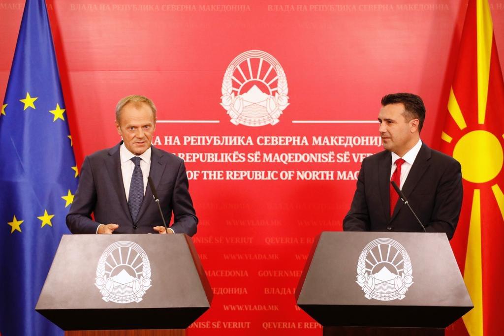 Скопје е најдоброто место од каде би сакал да упатам апел до лидерите на Европската унија: Сега вие завршете го вашиот дел. Затоа што Северна Македонија веќе го заврши својот. europa.eu/!DR86th