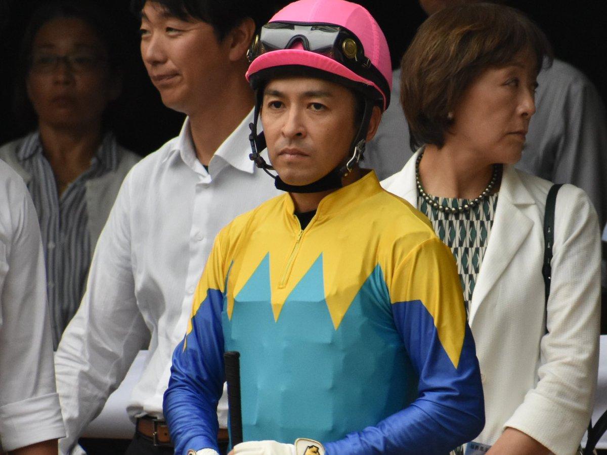セントライト記念 (18ランフォザローゼス) 福永祐一騎手 福永さん好きで馬よりも先に福永さん笑笑 パドックでこんな笑顔はあまり見たことない…