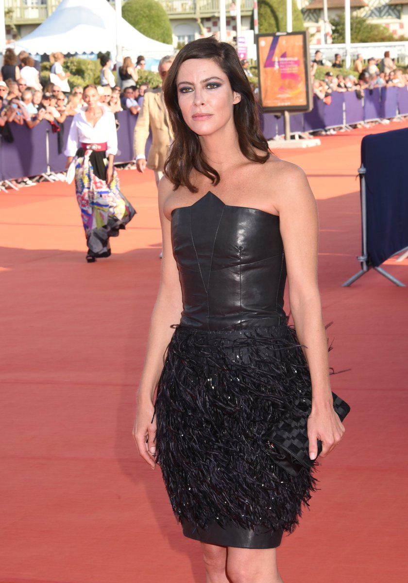 Friends of the House Anna Mouglalis, Pippa Bianco, Anne Berest and Vicky Krieps gathered at the closing ceremony of the 45th Deauville American Film Festival wearing CHANEL.#CHANELinCinema #Deauville2019