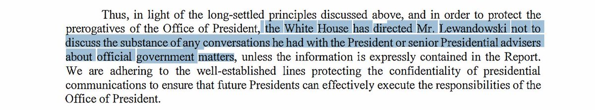"""Curious how conservative legal minds feel about the White House """"directing"""" a private citizen -- who has never been a White House employee -- not to speak about something. https://t.co/IWSZ3aNKoR"""