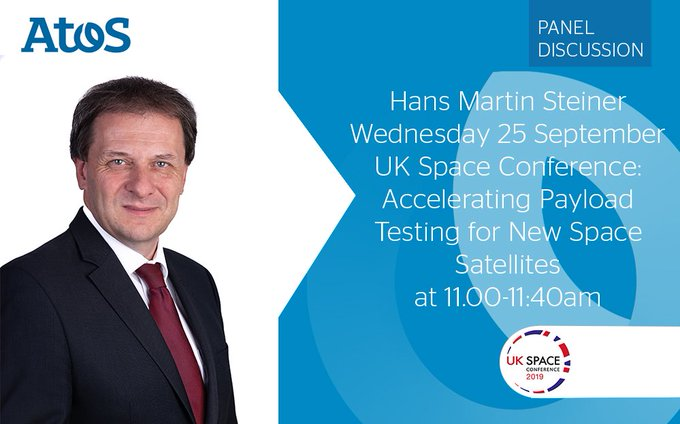 Hans Martin Steiner is speaking at the UK Space Conference about specific topics around...