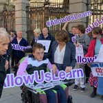 Image for the Tweet beginning: We're backing the #allowuslearn campaign