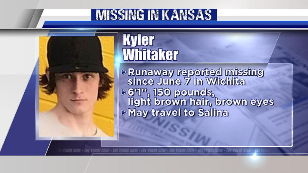 Please, RT.  Kyler Whitaker is a runaway, reported missing in early June. Let's help find him safe.   http:// bit.ly/2mduwv0       #MissingInKS #KAKEnews #Missing #MissingPerson #Wichita<br>http://pic.twitter.com/Wcf1nypSOt