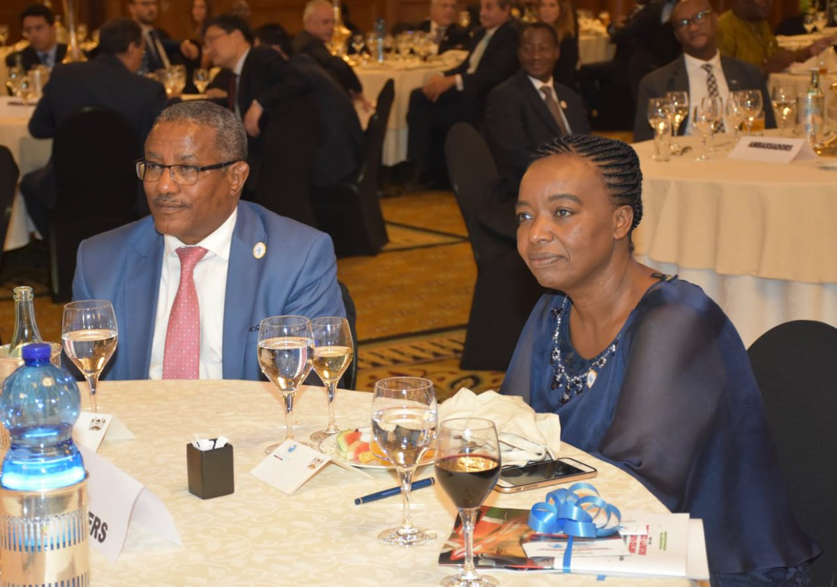 2/4..The launch was attended by among others Hon. Gedu Andargachew, Minister of Foreign Affairs of Ethiopia, Ambassador Kwesi Quartey, Deputy Chairperson of AUC, Heads of Missions and PRs to the African Union.