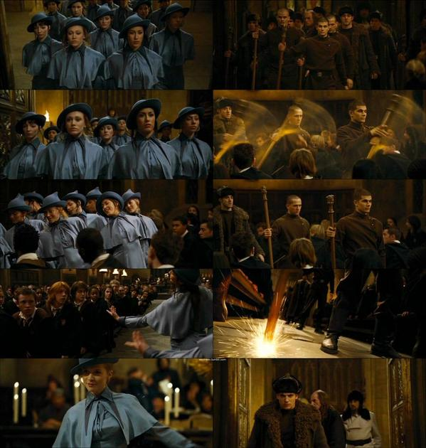 Harry Potter World On Twitter 30 October 1994 Beauxbatons And Durmstrang Students Arrived At Hogwarts Ahead Of The Triwizard Tournament Beauxbatons academy of magic, фр. beauxbatons and durmstrang students