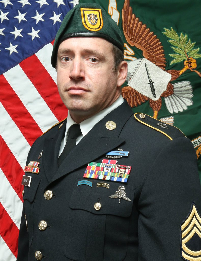 Sgt. 1st Class Jeremy W. Griffin, 41, of Greenbrier, Tennessee, was killed in action by small arms fire on Monday while engaged in combat operations in Wardak Province, Afghanistan, in support of Operation Freedoms Sentinel.