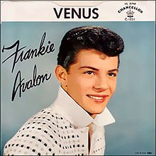 "September 18:Happy 79th birthday to singer,Frankie Avalon (""Venus\"")"