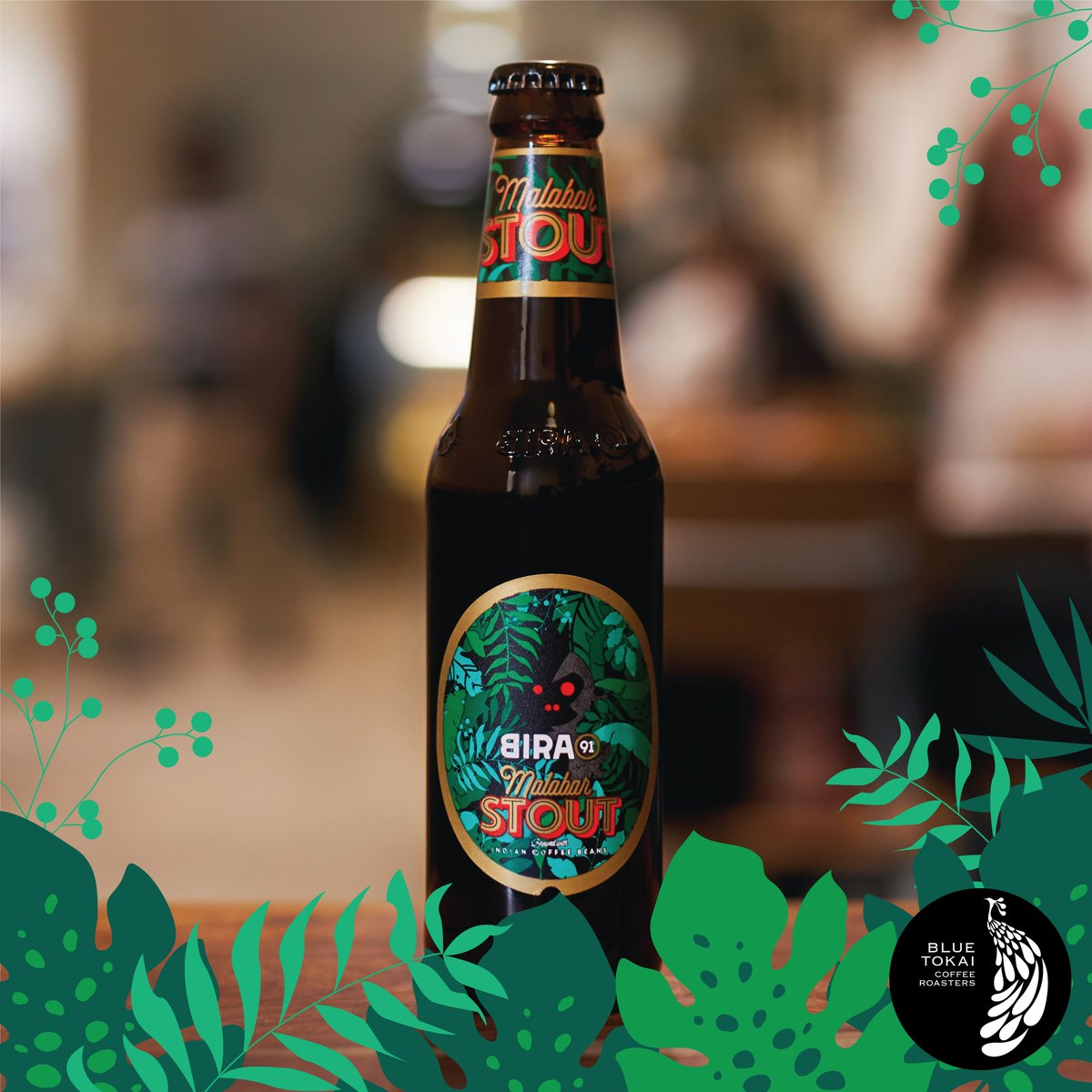 Our all-new Malabar Stout is a sessionable beer made with a custom batch of cold brew, in collaboration with @BlueTokaiCoffee 🍺...#LimitedRelease #AboutStout #CoolBrew #Bira91MalabarStout #Bira91Beers #Bira91 #Stout #CoffeeBeer