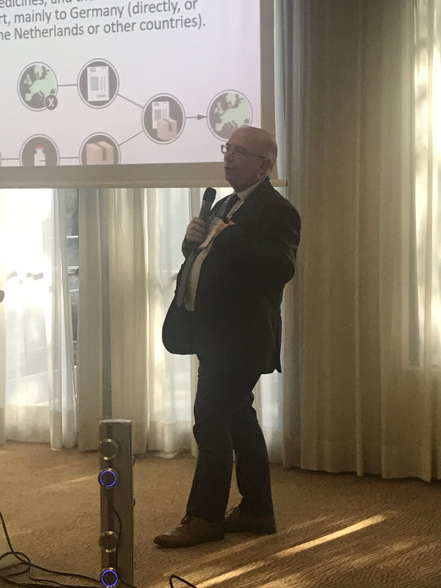 A che punto è la lotta alla contraffazione? Risponde Domenico Di Giorgio di @Aifa_ufficiale a #Smartpackaging 2019 @IKN_Italy https://t.co/Aw5BPsqPOy