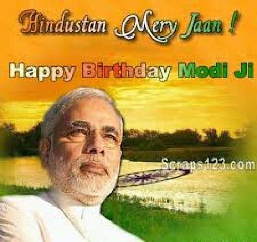 HAPPY BIRTHDAY WISHES Shri . Narendra Modi ji .
