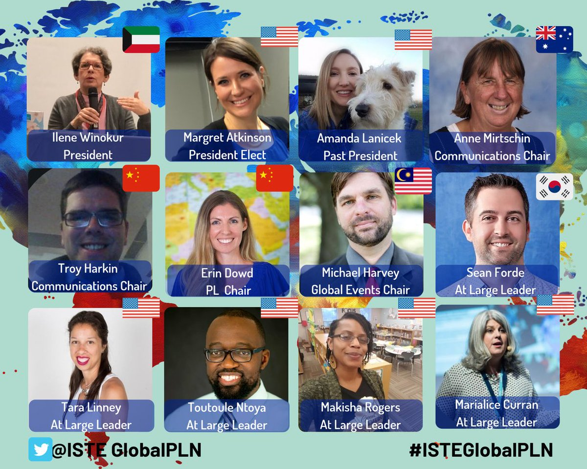 Great to be part of another amazing year with the @ISTEglobalPLN