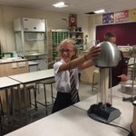 Image for the Tweet beginning: Year 7 Science club playing